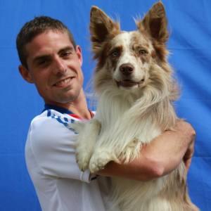 Adrien et GUMBALL Luxembourg Septembre 2014