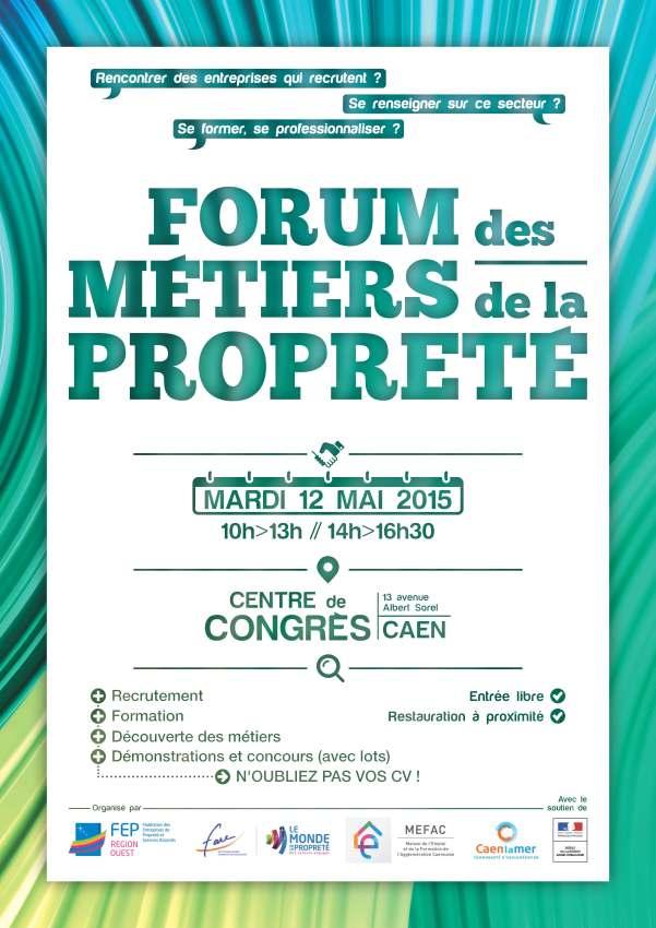 Affiche A4 Forum Propreté  2015