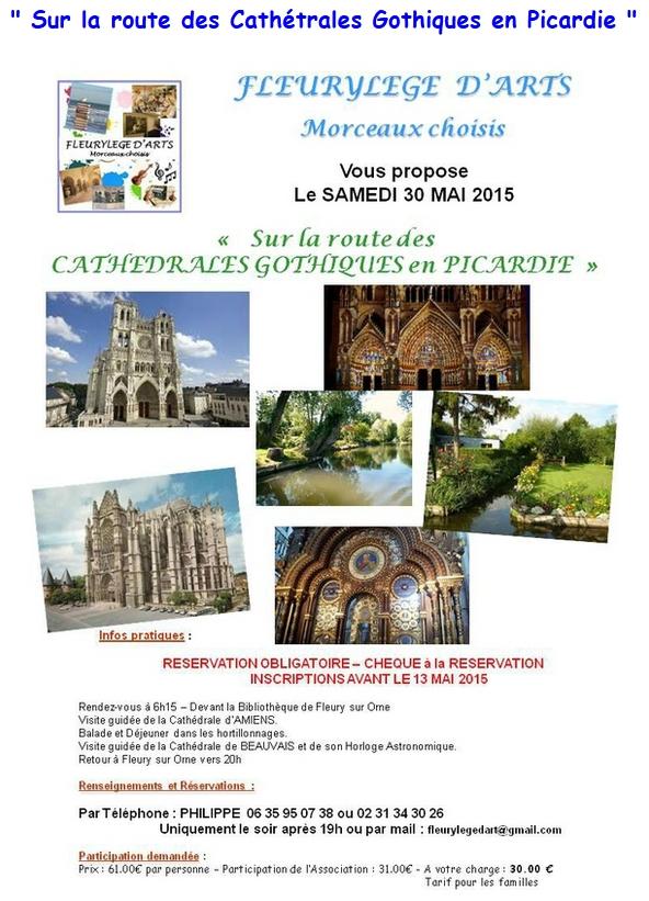 Sur la route des Cathédrales Gothiques en Picardie