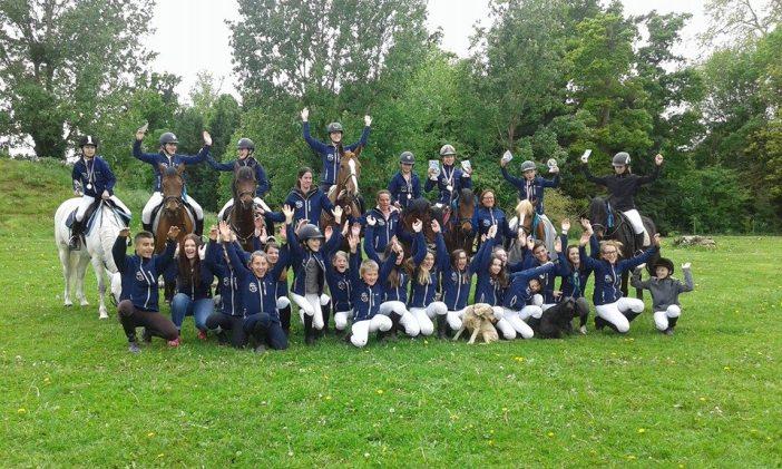 5 champions de Normandie au Poney Club
