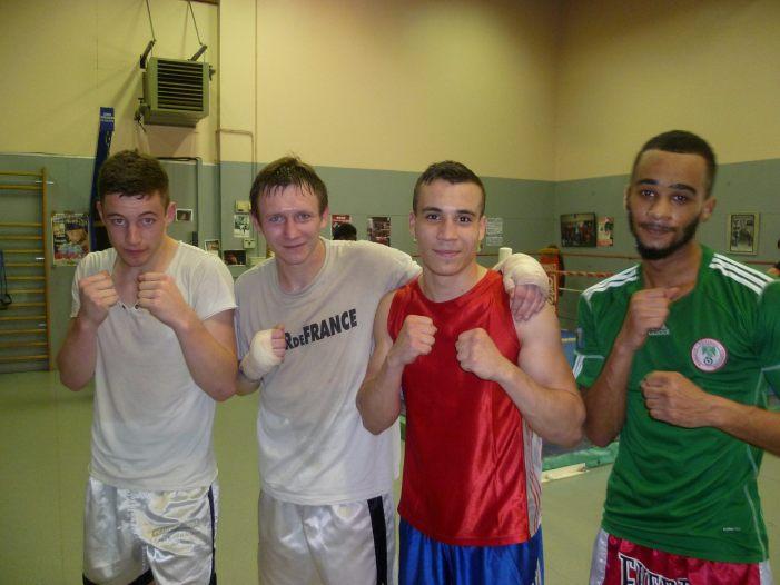 François, Nathan, Jérémy et Olivier