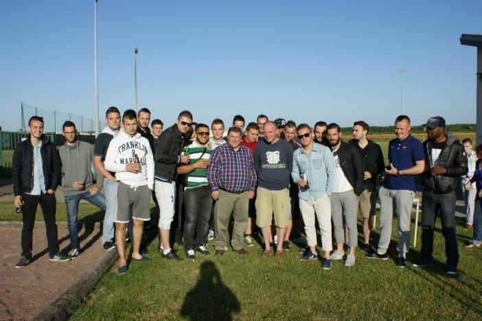 Barbecue de fin de saison pour les joueurs de la JSF Football