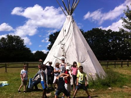 Mini camp à la ferme d'Escures, 1ere semaine d'août