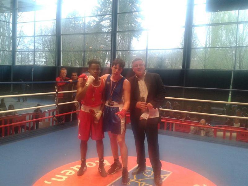 Joseph champion de Normandie 2016