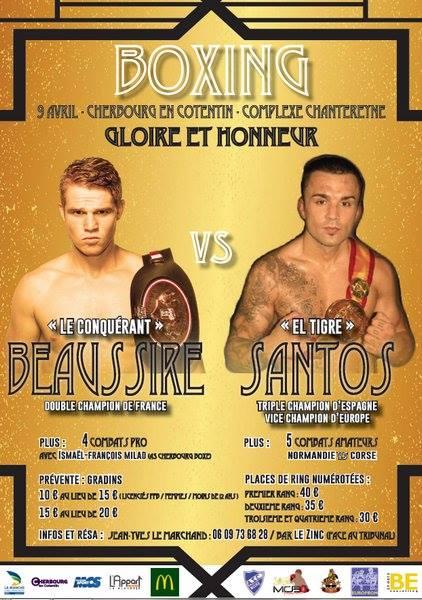 Boxe anglaise à Cherbourg