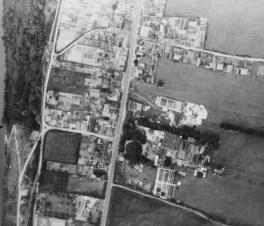 Photo aérienne du 7 juin 1944