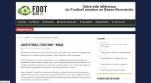 Foot actu 14