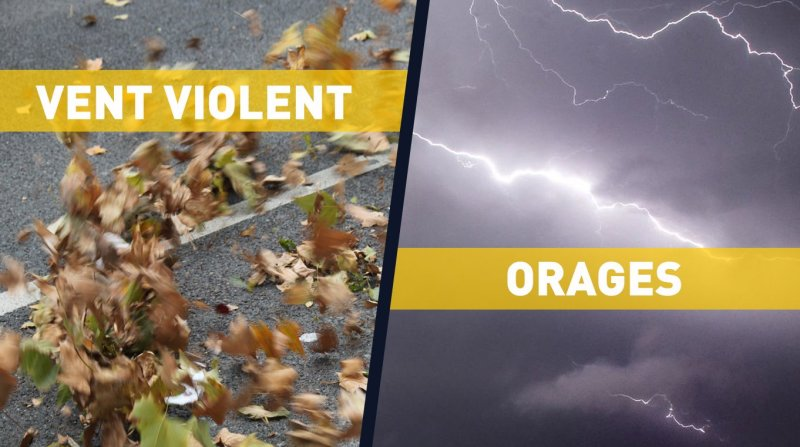 Vigilance vent violent orages