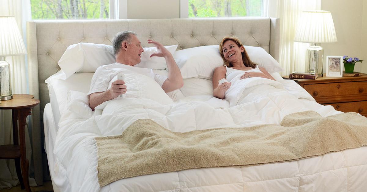 Split King Adjustable Bed Life Changing For Couples Flexabed
