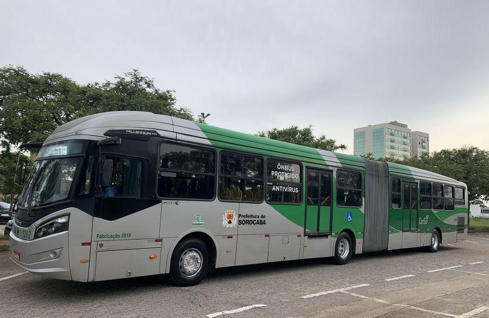 Ônibus proteção contra vírus
