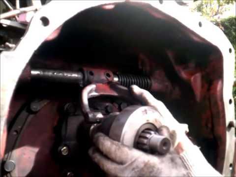 Como cambiar embrague tractor ebro