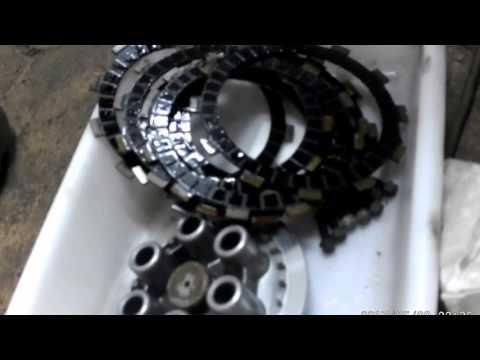 Cómo cambiar los discos de embrague de la moto. YAMAHA XTZ 750 SUPERTENERÉ. Videos 13 de ??