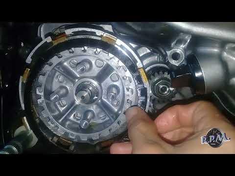 Cómo instalar discos de clutch/embrague rx100 y Rx115 Yamaha / How to install clutch discs correctly