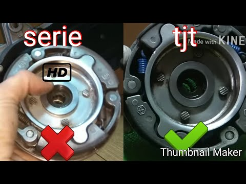CAMBIO DE MUELLES DE EMBRAGUE VESPINO F9 /HOW TO CHANGE THE SPRINGS OF THE CLUTCHES (MRCANICA)