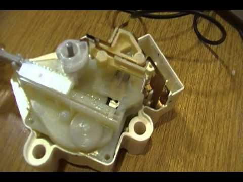 Mecanismo acciona embrague Lavadora Fuzzilogic de 10kg marca LG