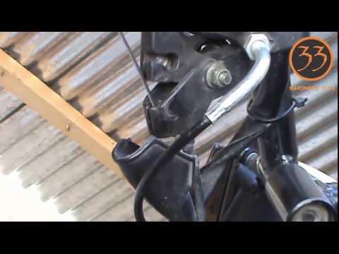 Cambiar Cable de Embrague (150cc en adelante) bien explicado.