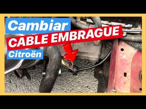 👈🥇 CAMBIAR el CABLE del EMBRAGUE de la CITROEN Berlingo Gasolina 1600 / 110cv 🔧🔩
