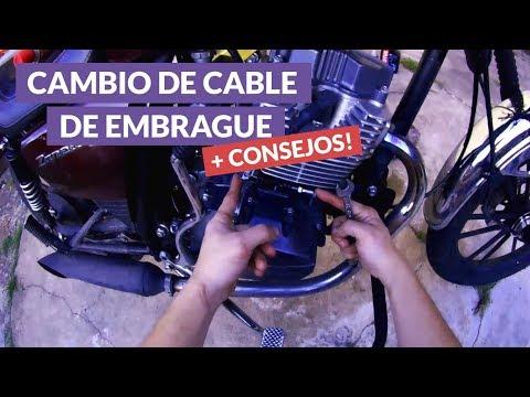 Cómo cambiar cable de embrague o clutch de tu moto [Low Rider MotoVlog]