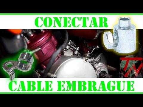 Conectar cable EMBRAGUE a LEVA escape y cilindro 🛵💨