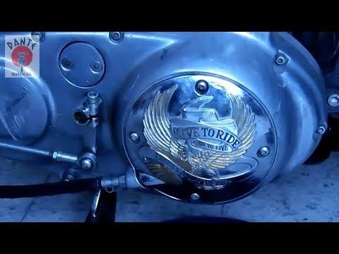 Como ajustar el embrague o clutch de la Harley Davidson Sportster 883 #Sportster883 #HarleyDavidson