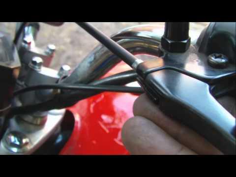 Tutorial Como cambiar el cable de embrague de motos Suzuki Ax 100