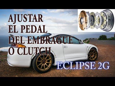 Como Ajustar El Pedal Del Embrague (Clutch) Mitsubishi Eclipse 2g