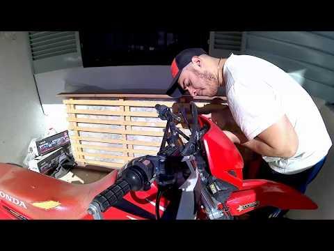 Cambio cable de embrague – Honda Tornado