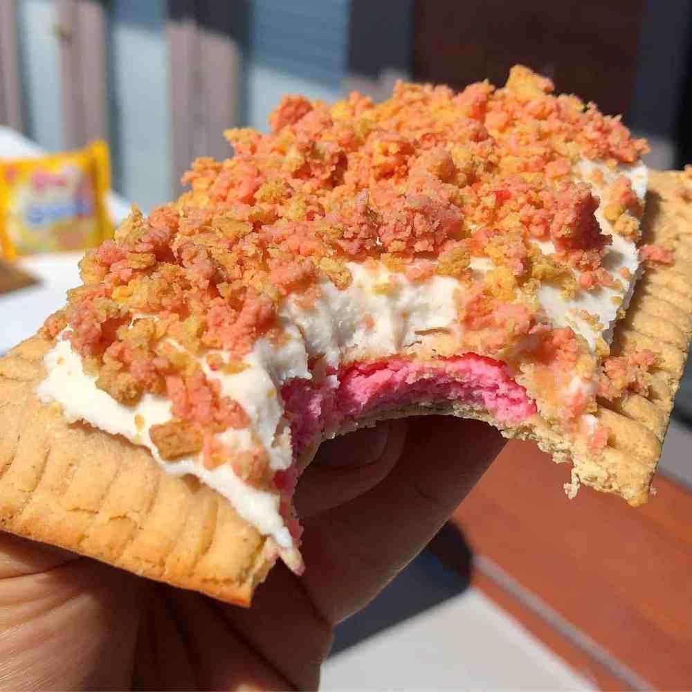 Strawberry Shortcake Protein Pop Tart