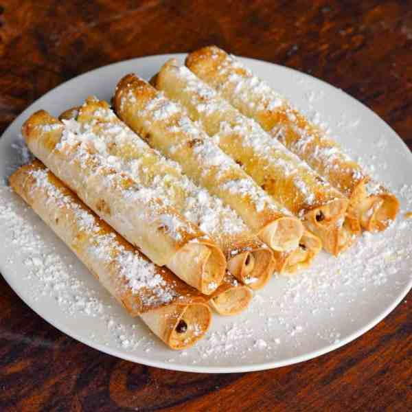 Cookie Dough Taquitos