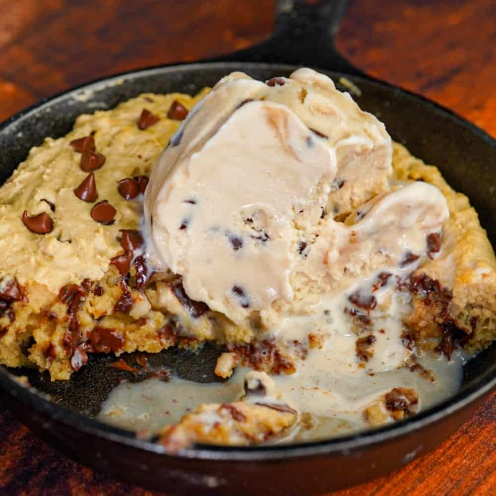 Cookie Skillet in Air Fryer