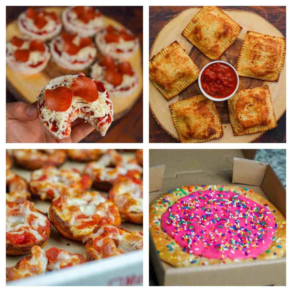 Low Calorie Pizza Grid