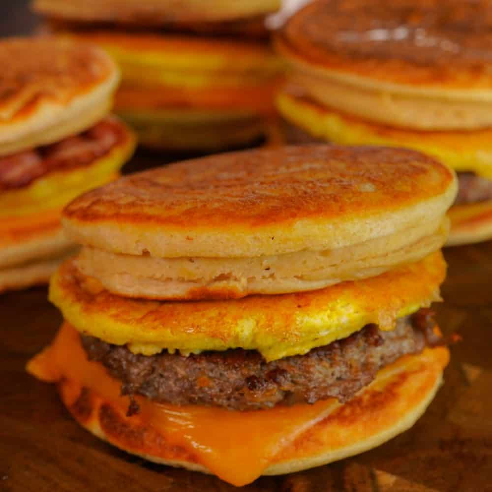 Sausage Egg and Cheese Mcgriddles
