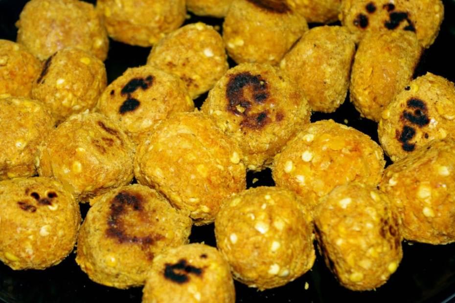 Recette végétarienne : boulettes de lentilles corail