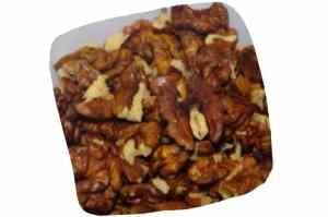 Recette de macaronis figues et noix : cerneaux de noix