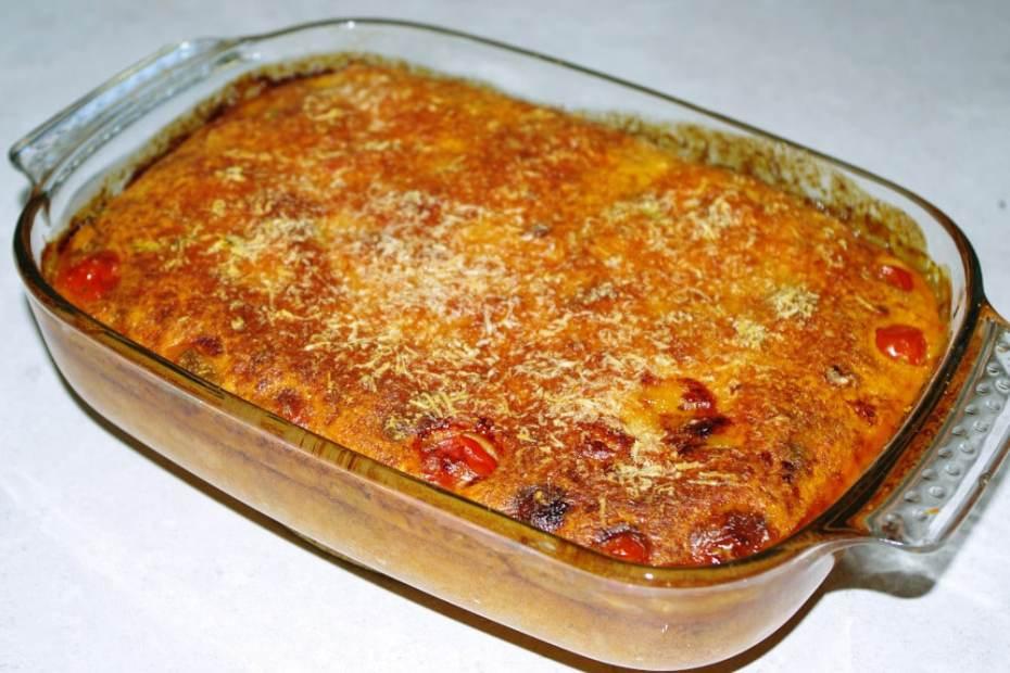 Recette de clafoutis de tomates au basilic