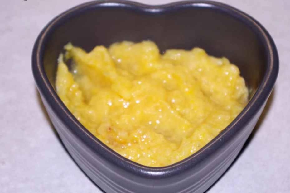 Recette de compote banane et mangue