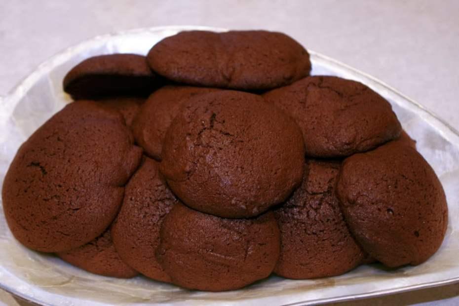 Recette des cookies moelleux au chocolat