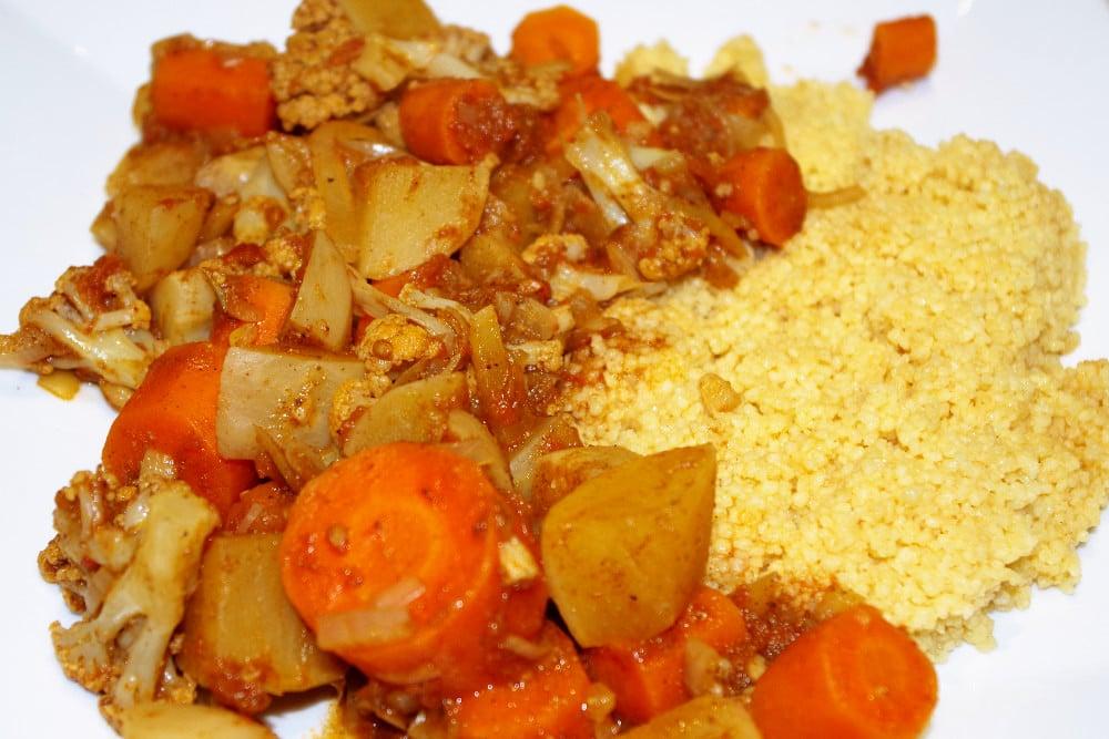 Recette végétarienne de couscous de légumes