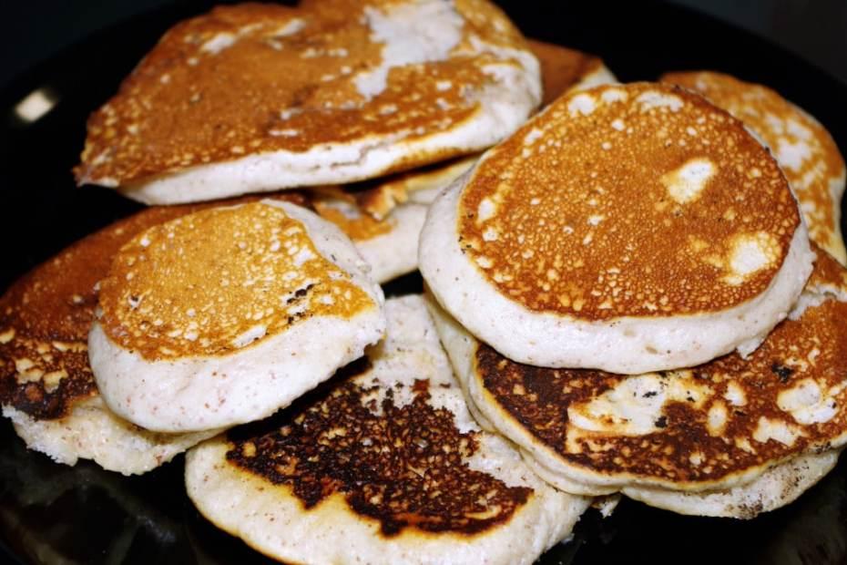 Recette végane de pancakes aux amandes