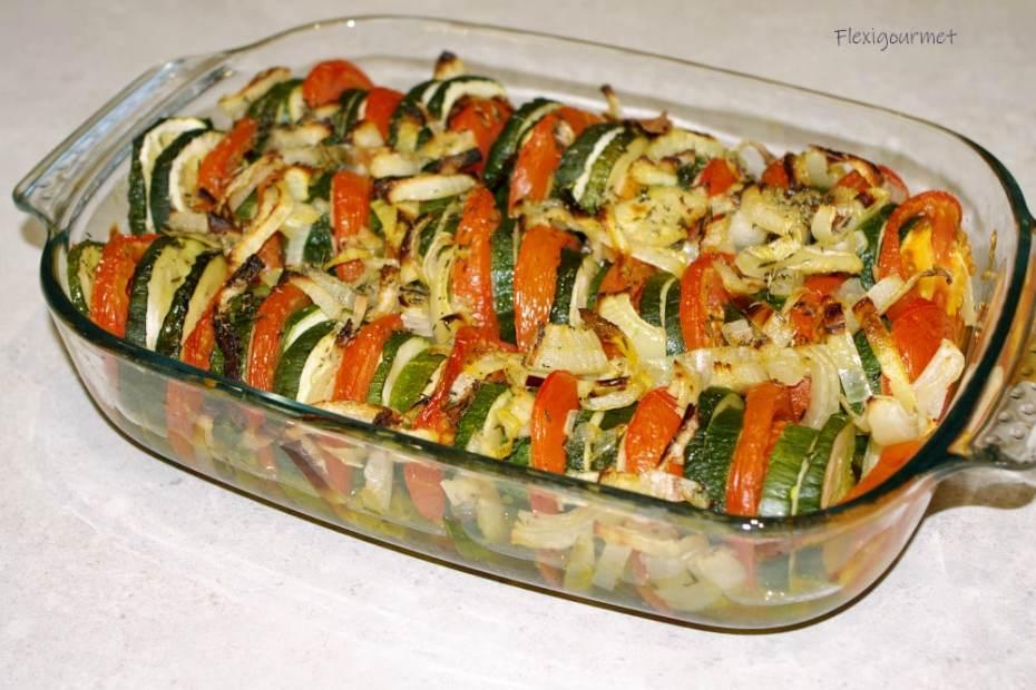Recette du tian de tomates et courgettes