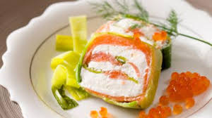 Recette de terrine de saumon fumé aux poireaux