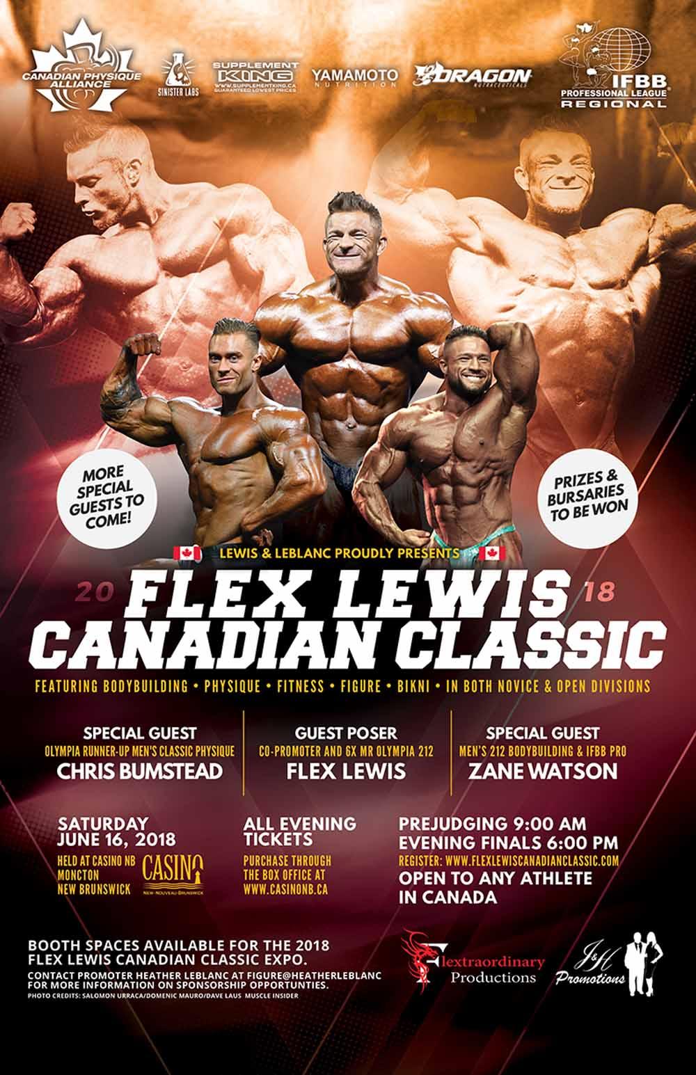 Flex Lewis Canadian Championship