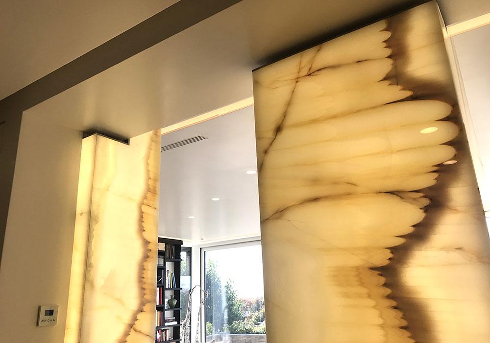 flexlite retroilluminazione marmo