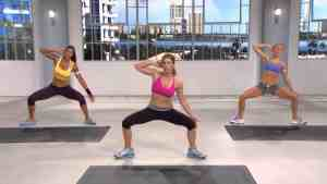 a workout from the new train with jillian program