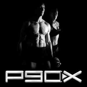 the p90x workout schedule with tony horton standing in the background