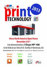Print Technology 2013 poster