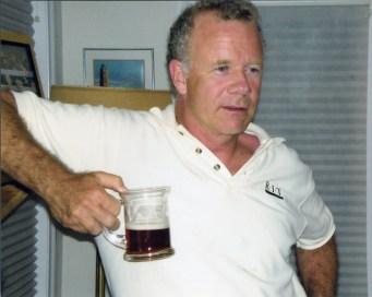 Mark Samworth FTA Hall of Fame pilsner