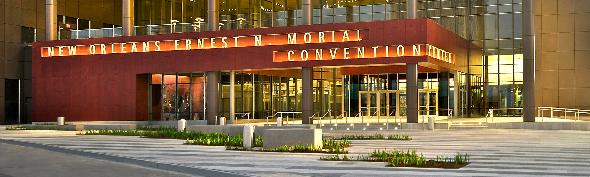 INFOFLEX 2019 homepage Ernest N Morial Convention Center exterior