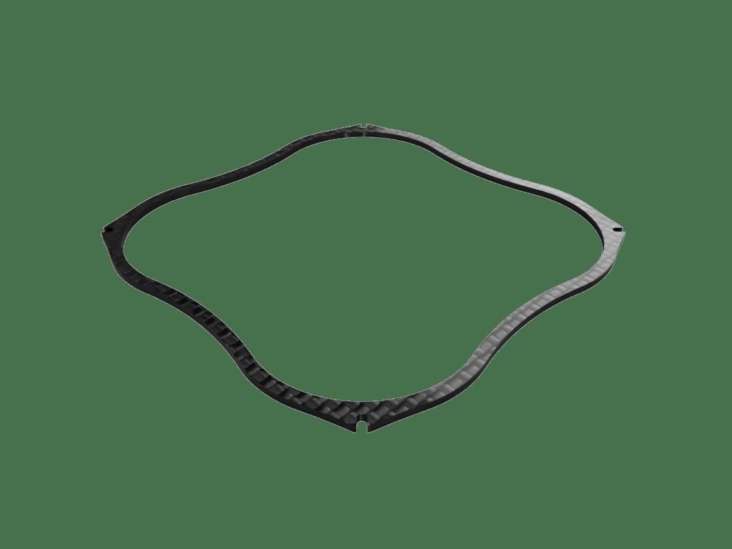 Nano X 57mm Carbon Fiber Bumper Flex Rc