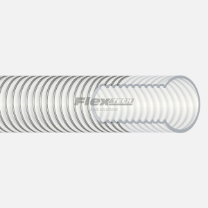 T6401 | Convoluted Virgin PTFE Vacuum Hose
